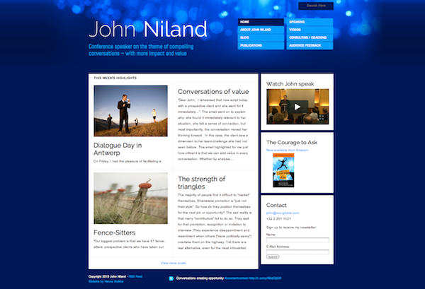 John Niland website